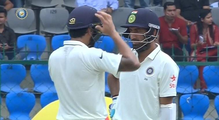 India vs New Zealand,India vs New Zealand Test series,India vs New Zealand 2016,India vs New Zealand 1st Test,Virat Kohli,Murli Vijay,KL Rahul,Cheteshwar Pujara,Virat Kohli (captain),Ajinkya Rahane,Rohit Sharma,Ravichandran Ashwin,Wriddhiman Saha (wicket