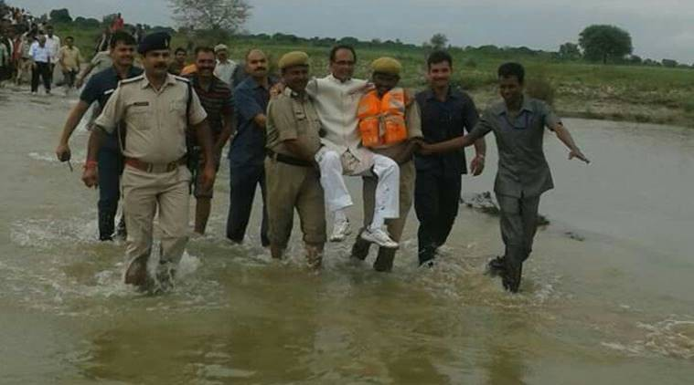 Shivraj Singh Chouhan,flood-affected areas,Madhya Pradesh,Madhya Pradesh CM,floods,floods in MP,Rewa and Satna district
