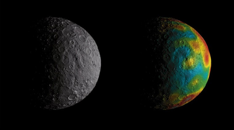 nasa, ancient ocean, dwarf planet, Ceres,