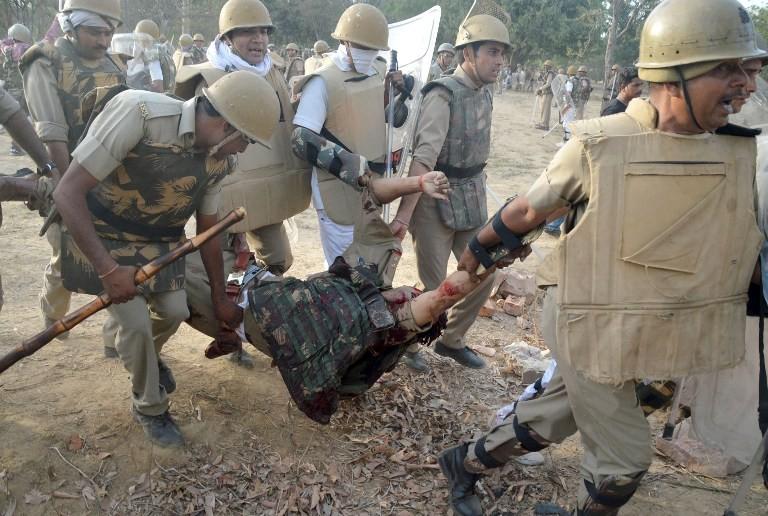 Mathura clash,Mathura,Mathura clashes,Mathura violence,Mukul Dwivedi,Superintendent of Police Mukul Dwivedi,Samajwadi Party,Mathura clash pics,Mathura clash images,Mathura clash photos,Mathura clash stills,Mathura clash pictures