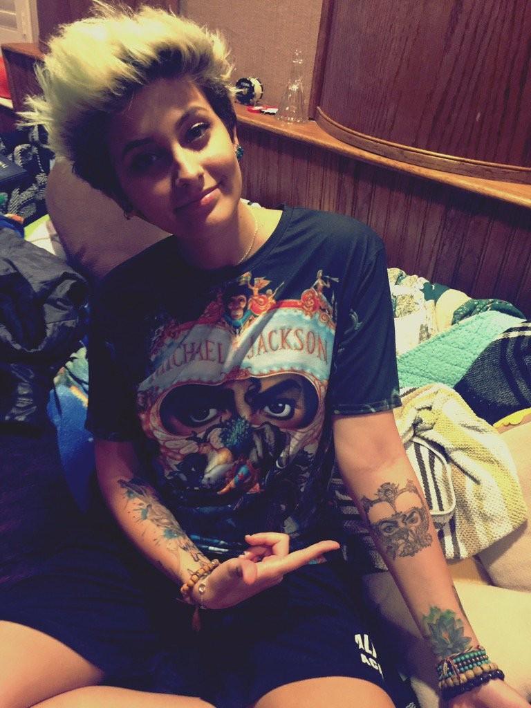 Paris Jackson,Michael Jackson,Michael Jackson daughter Michael Jackson,Paris Jackson's new tattoo,Paris Jackson tattoo,Michael Jackson tattoo