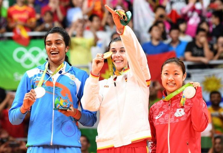 बैडमिंटन सिंधु रजत पदक
