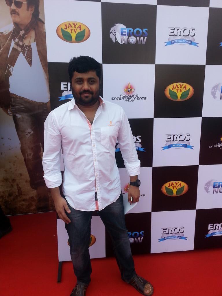 Producer Gnanavel Raja at