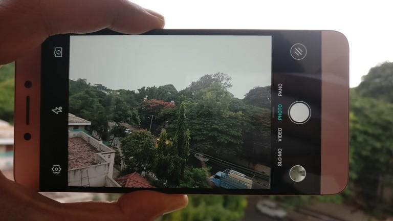 LeEco Le 2 First Impression: Camera interface
