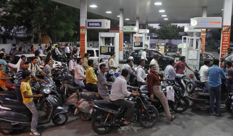 India Petrol fuel consumption petrol station fuel station