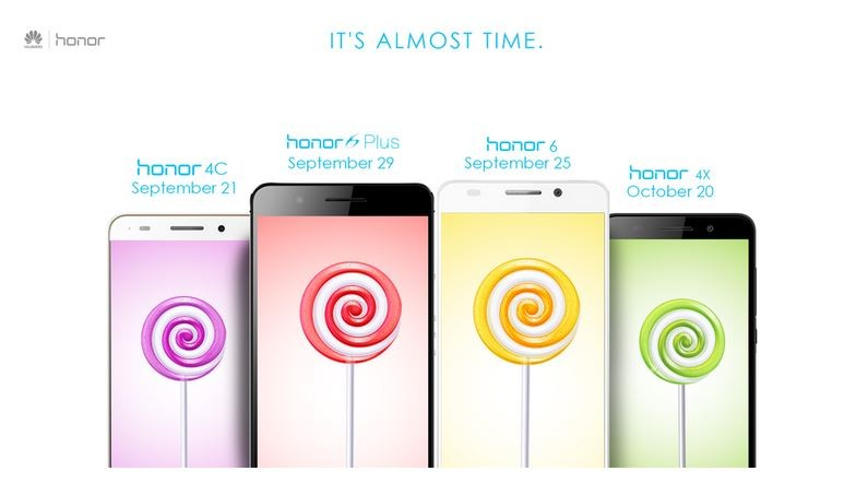 Android Lollipop Release Schedule for Huawei Honor Series Revealed; Honor 4C First in Line to get New OS Update