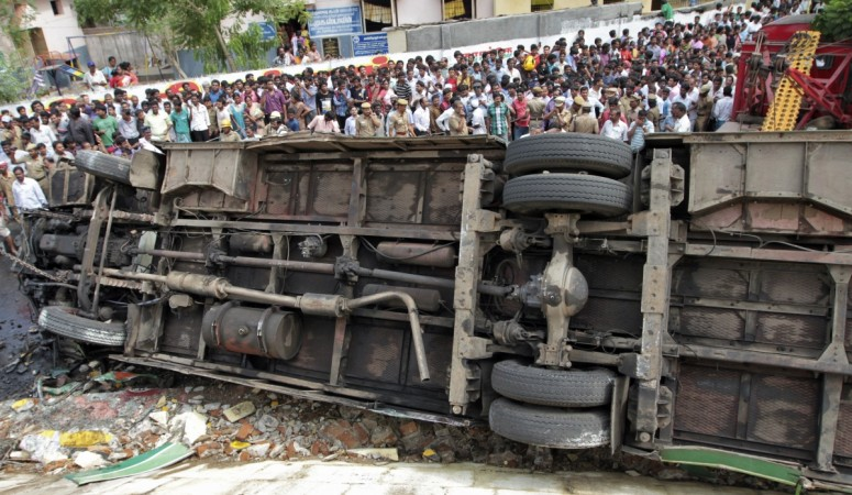 Bus Carrying Haridwar Pilgrims Overturns in Udaipur; 9 Killed