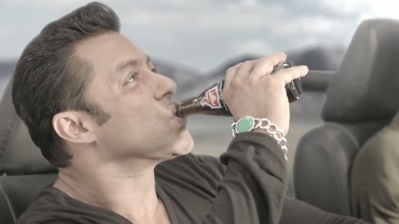 Salman Khan's Thumbs Up ad