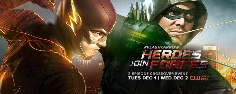 The Flash Arrow cross over episode