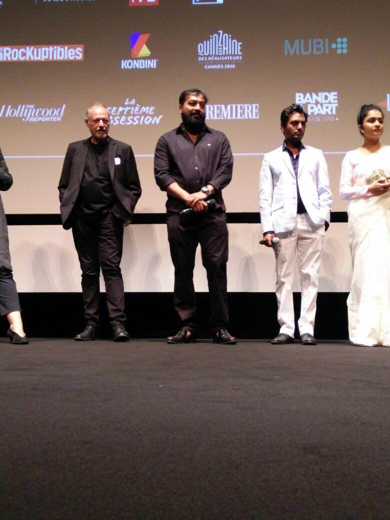 Raman Raghav 2.0 special screening,Raman Raghav 2.0,Raman Raghav 2.0 special screening at Cannes,Cannes Film Festival,Cannes Film Festival 2016,Bollywood movie Raman Raghav 2.0,Nawazuddin Siddiqui,Vicky Kaushal