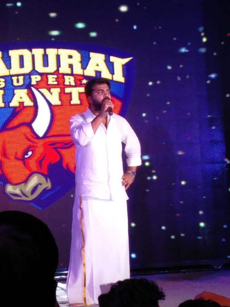 Madurai Supergiants,Madurai Supergiants Jersey,Virender Sehwag,Simbu,Anirudh,Anirudh Ravichander,Madurai Supergiants Jersey launch,Madurai Supergiants Team
