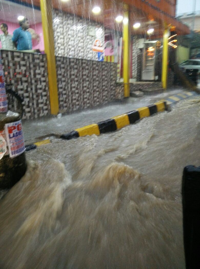 Heavy Rain in Bangalore