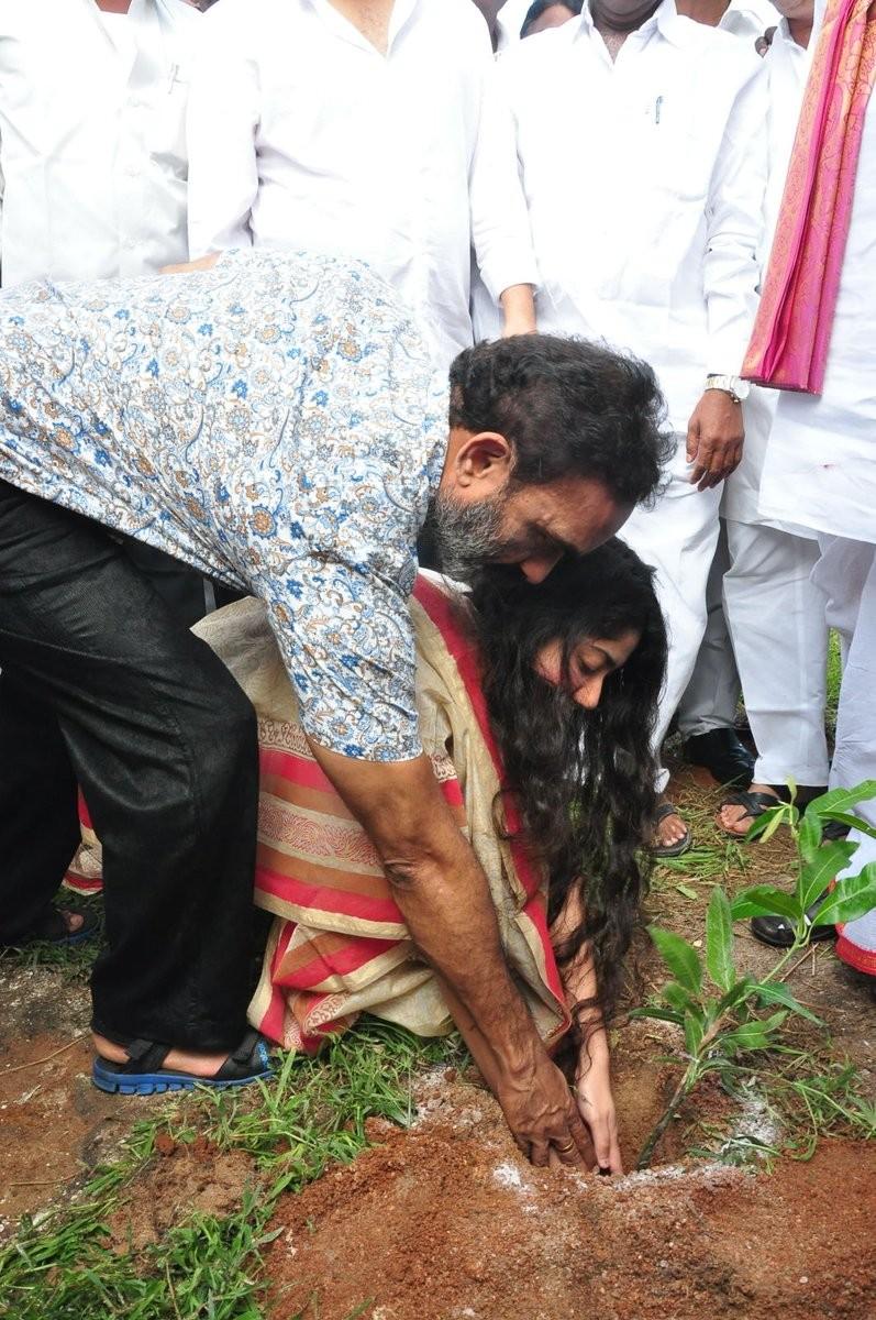 Haritha Haram campaign,Haritha Haram,Varun Tej,Sai Pallavi,Dil Raju,Nagababu Garu,Pocharam Srinivas,Sekhar Kammula,Sai Pallavi joins Haritha Haram campaign