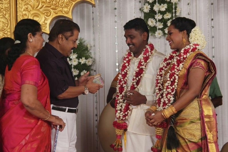 Director Vijay Milton Brother Reception,Director Vijay Milton Brother Reception  pics,celebs at Director Vijay Milton Brother Reception,Director Vijay Milton Brother Reception  images,Director Vijay Milton Brother Reception stills,Director Vijay Milton Br