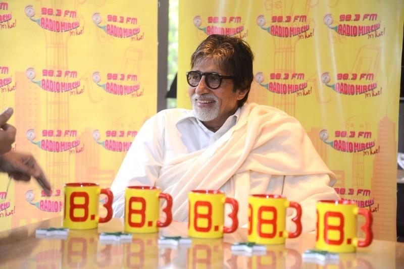 Amitabh Bachchan Promotes Piku on Radio Mirchi,Amitabh Bachchan,actor Amitabh Bachchan,Amitabh Bachchan piku,Piku on Radio Mirchi,Radio Mirchi,Amitabh Bachchan pics,Amitabh Bachchan images,Amitabh Bachchan photos,Amitabh Bachchan stills,Amitabh Bachchan p