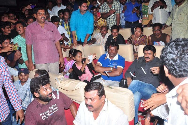 Balakrishna Watches Lion Movie at Bramaramba Theatre,Balakrishna Watches Lion Movie,Nandamuri Balakrishna,actor Nandamuri Balakrishna,Lion Movie,Lion Movie stills,Bramaramba Theatre,Bramaramba Theatre in Hyderabad,actor Balakrishna