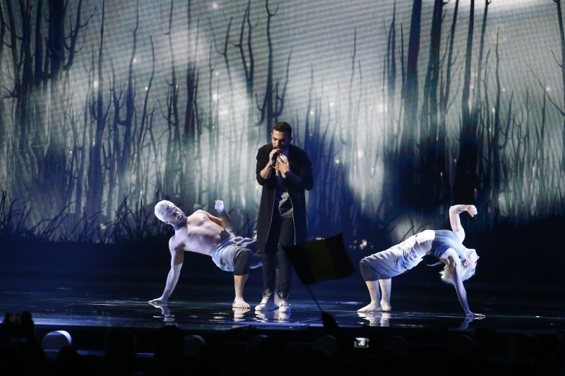 Eurovision Song Contest 2015 Grand Final,Eurovision Song Contest 2015,talent show,Sweden's Mans Zelmerlow,Mans Zelmerlow,Eurovision Song Contest,Eurovision Song Contest 2015 pics,Eurovision Song Contest 2015 images,Eurovision Song Contest 2015 photos,Euro