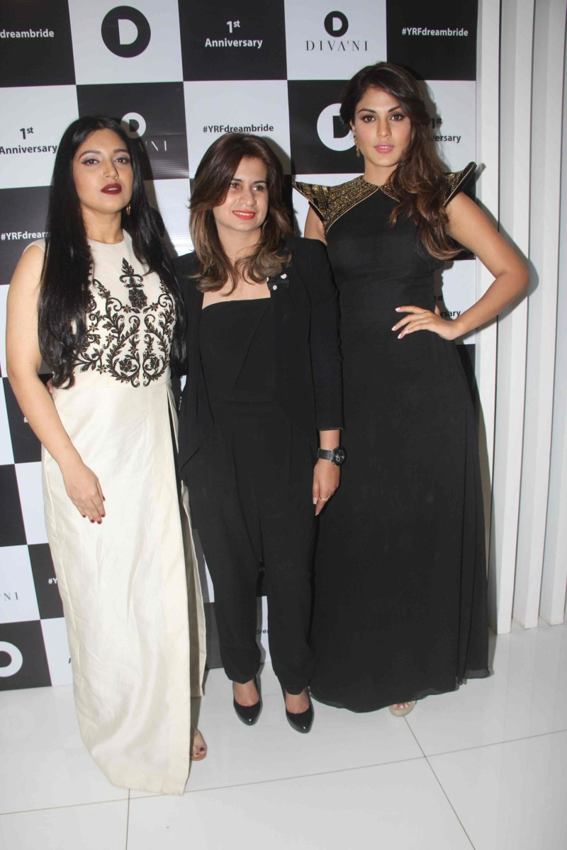 First Anniversary Of Diva'ni Fashion Brand,Diva'ni Fashion Brand,Bhumi Pednekar,Sanya Dhir,Rhea Chakraborty,Diva'ni Fashion Brand pics,Diva'ni Fashion Brand images,Diva'ni Fashion Brand photos