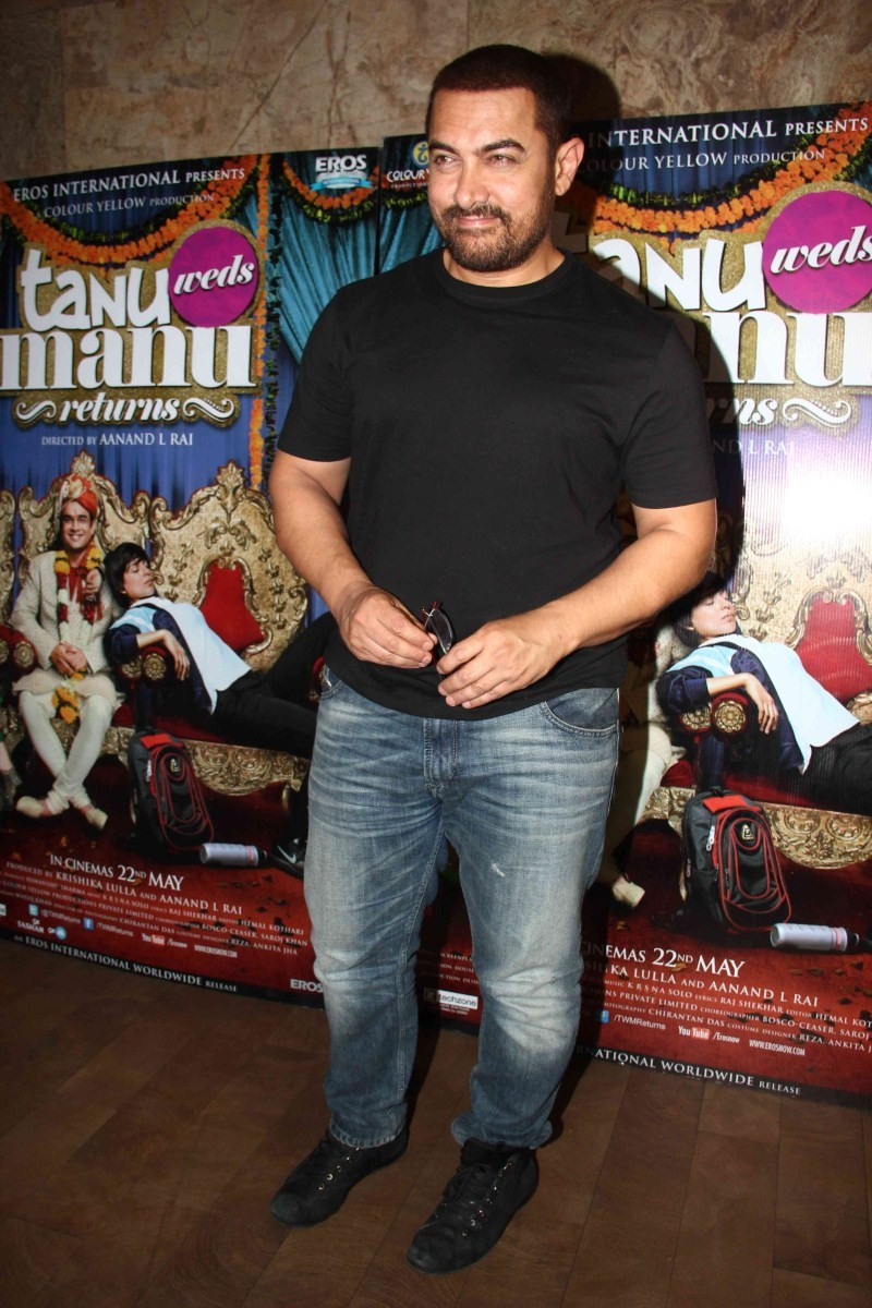 Aamir Khan watch Tanu Weds Manu Returns at Light Box,Aamir Khan watches Tanu Weds Manu Returns,Tanu Weds Manu Returns,Aamir Khan,actor Aamir Khan,Aamir Khan pics,Aamir Khan images,Aamir Khan photos,Aamir Khan stills,Aamir Khan latest pics,Aamir Khan lates