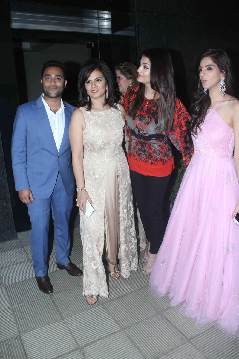 Aishwarya Rai Bachchan at Nishka Lulla's Wedding Bash,Aishwarya Rai Bachchan,Aishwarya Rai,Nishka Lulla's Wedding Bash,Nishka Lulla's Wedding Bash party,Aishwarya Rai Bachchan attends Nishka Lulla's wedding bash,actress Aishwarya Rai