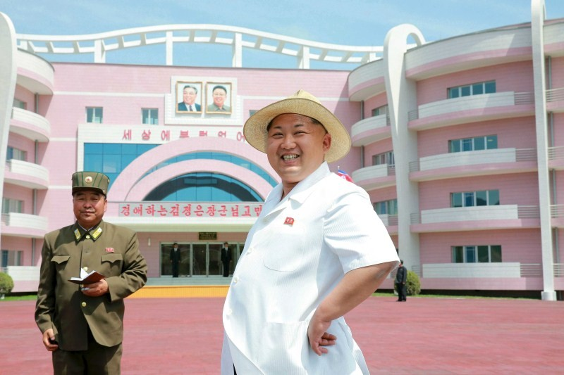 Kim Jong Un Inspects New Wonsan Baby Home And Orphanage,Kim Jong,North Korean leader Kim Jong,New Wonsan Baby Home and Orphanage,Wonsan Baby Home and Orphanage,Orphanage,baby home