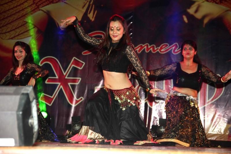 Daisy Shah Dance Fest at St. Andrews Auditorium,Zarine Khan at Dance Fest at St. Andrews Auditorium,Rahul Saxena's Dance Fest at St. Andrews Auditorium,Rahul Saxenna Dance Fest at St. Andrews Auditorium