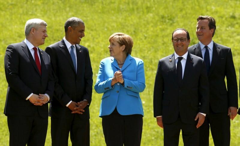 G7 Summit,g7 summit 2015,g7 summit countries,g8 summit,40th G7 summit,Vladimir Putin,Obama,Barack Obama,Merkel,David Cameron,G7 Summit pics,G7 Summit images,G7 Summit photos,G7 Summit stills