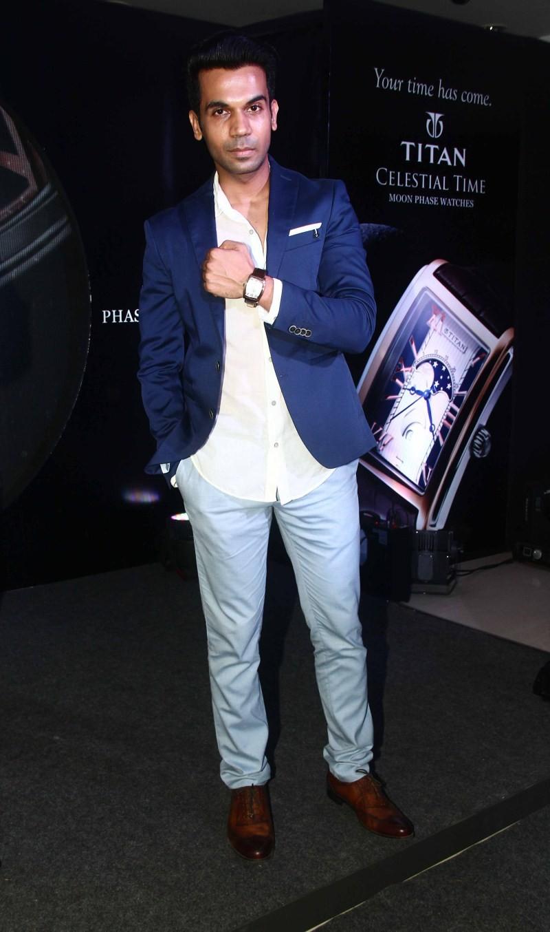 Rajkumar Rao unveils Titan's Celestial Time Collection,Rajkumar Rao,Titan's Celestial Time Collection,Actor Rajkumar Rao,Titan,Titan watches,Titan collections
