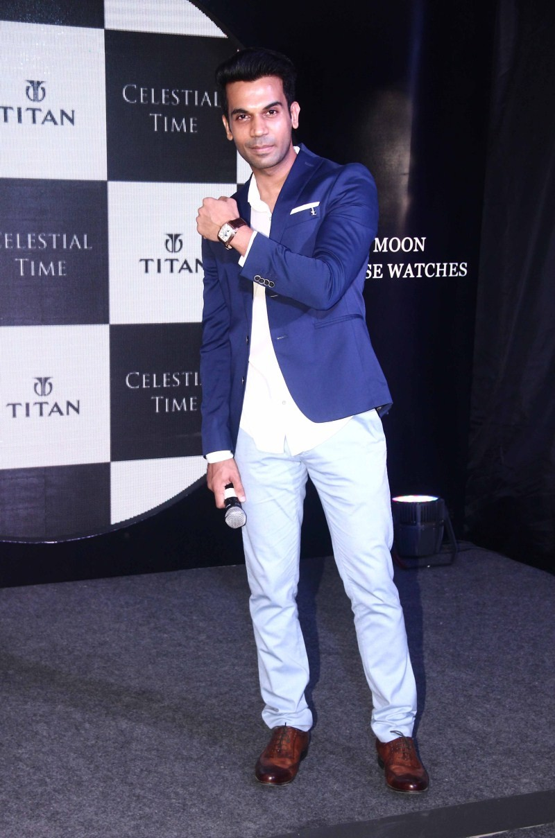 Rajkumar Rao unveils Titan's Celestial Time Collection,Rajkumar Rao,Titan's Celestial Time Collection,Actor Rajkumar Rao,Titan,Titan watches,Titan collections