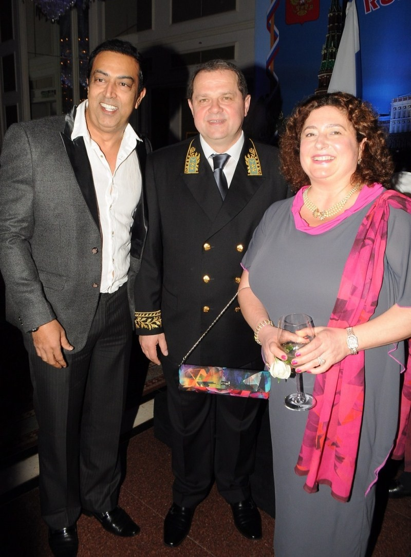 Russian National Day,Russian's National Day celebration in Mumbai,Russian Consul General,National Day,Hotel Trident,Jackie Shroff,actor Jackie Shroff