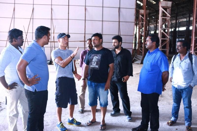 Roger,Roger for Dhanush movie,Dhanush,Dhanush movie,Prabhu Solomon Dhanush Movie,Prabhu Solomon,Prabhu Solomon movie,Hollywood Stunt Master Roger,Stunt Master Roger