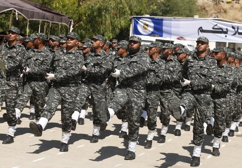 Military Graduation Ceremony,Military Graduation Ceremony held in Gaza Strip,Palestinian national security forces,national security forces,Gaza Strip,Hamas demonstrates