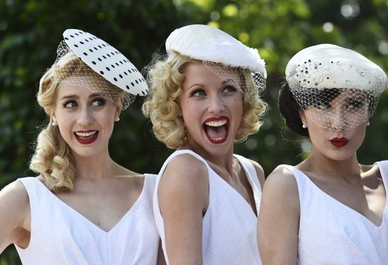 Ladies' Day at Royal Ascot,Royal Ascot,Ladies Day,Sophie Wessex,Ladies' Day at Royal Ascot 2015,Royal Ascot Ladies day,Crazy fashions,Royal Ascot 2015