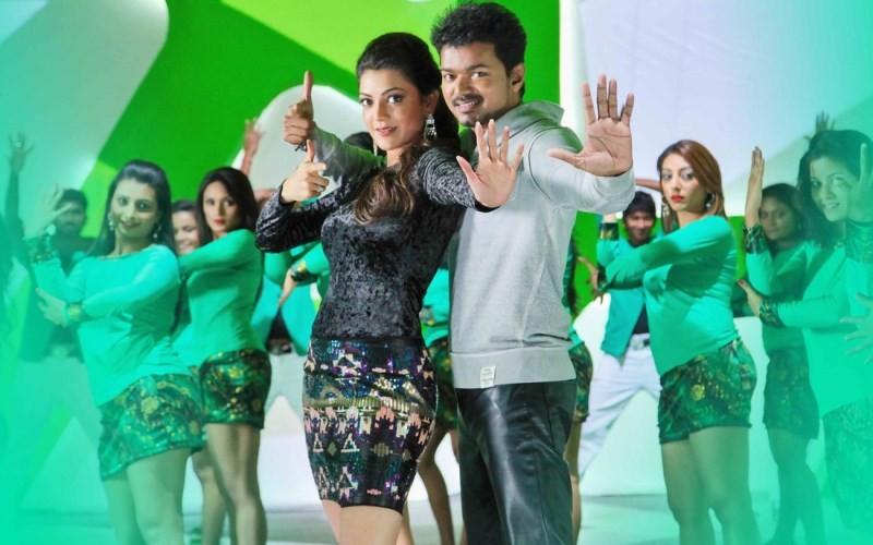 Vijay,Kajal Aggarwal,Actor Vijay and Kajal Aggarwal,Jilla Movie Stills,Jilla Movie pics,Jilla Movie images,Jilla Movie photos,Jilla Movie pictures