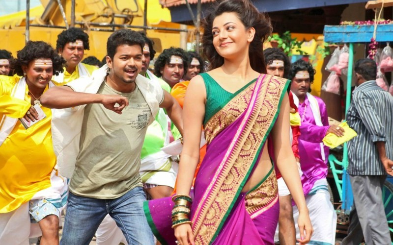 Vijay,Kajal Aggarwal,Actor Vijay and Kajal Aggarwal,Jilla Movie Stills,Jilla Movie pics,Jilla Movie images,Jilla Movie photos,Jilla Movie pictures