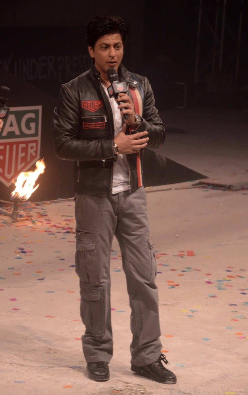 Shahrukh Khan,Shahrukh Khan Launches Tag Heuer's Don't Crack Under Pressure initiative,Shahrukh Khan Launches Tag Heuer's,SRK Launches Tag Heuer's Don't Crack Under Pressure initiative,Shahrukh Khan latest pics,Shahrukh Khan latest images,Shahrukh Khan la
