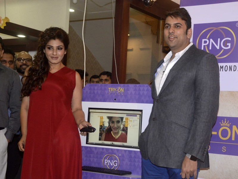 Raveena Tandon,actress Raveena Tandon,Raveena Tandon Re-Launches PN Gadgil Website,Raveena Tandon latest pics,Raveena Tandon latest images,Raveena Tandon latest photos,Raveena Tandon latest stills,PN Gadgil Website,PN Gadgil Website re-launch