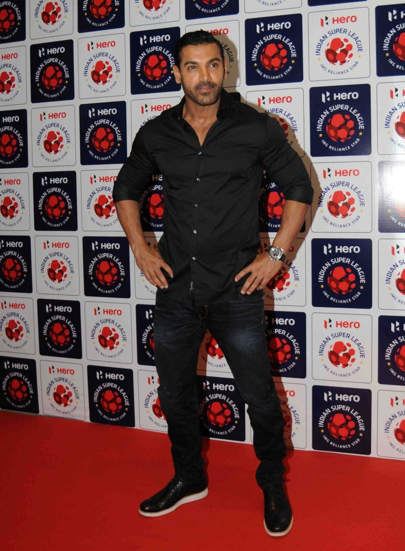 John Abraham,actor John Abraham,John Abraham at ISL Auction 2015,Indian Super League Auction 2015,Indian Super League Auction,ISL Auction 2015,ISL Auction,John Abraham latest pics,John Abraham latest images,John Abraham latest photos,John Abraham latest s