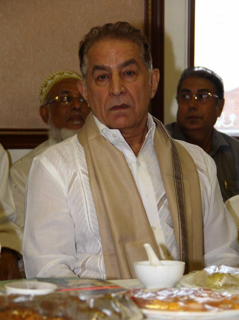 BJP leader Shaina NC Iftar Party,celebs at BJP leader Shaina NC Iftar Party,Shaina NC Iftar Party,Iftar Party,Iftar Party pics,Iftar Party images,Iftar Party photos,Iftar Party stills,Salim Khan at BJP leader Shaina NC Iftar party,Subhash Ghai at BJP lead
