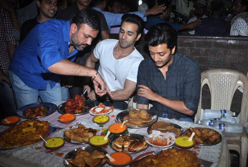 EID celebrations,Riteish Deshmukh,Pulkit Samrat,Bangistan Movie Promotion,Riteish Deshmukh and Pulkit Samrat,EID celebrations in Mumbai,Bangistan