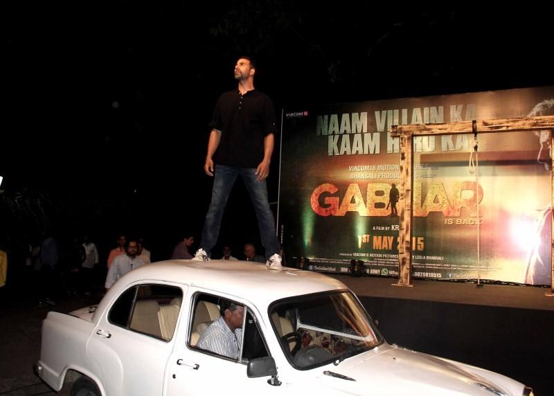 Gabbar is Back Trailer Launch,Gabbar is Back,Gabbar is Back Trailer,Akshay Kumar,Shruti Hassan,Gabbar is Back Trailer Launch pics,Gabbar is Back Trailer Launch images