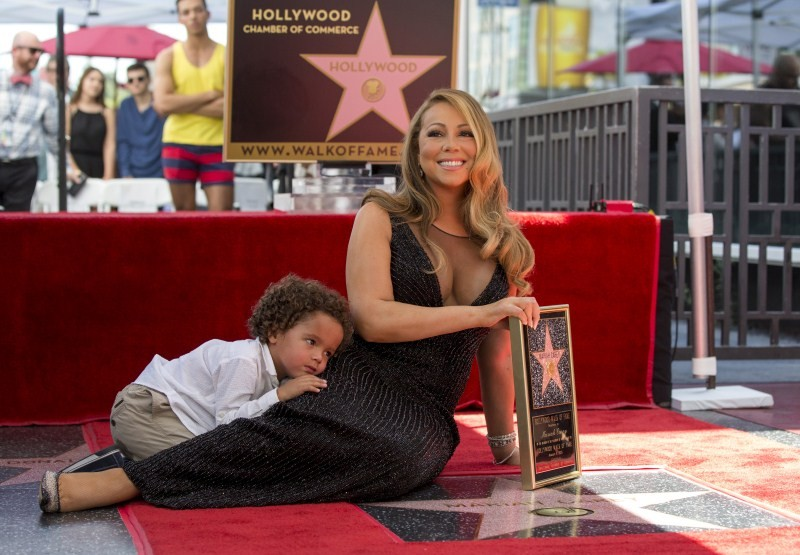 Mariah Carey,Mariah Carey gets star on Hollywood's Walk of Fame,Iconic musician Mariah Carey,musician Mariah Carey,Hollywood's Walk of Fame