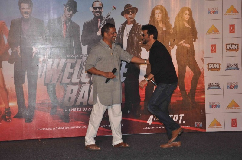 John Abraham,Anil Kapoor,Nana Patekar,Welcome Back song launch,Welcome Back,John Abraham,Anil Kapoor,Nana Patekar,Welcome Back song launch pics,Welcome Back song launch images,Welcome Back song launch photos,Welcome Back song launch stills,Welcome Back