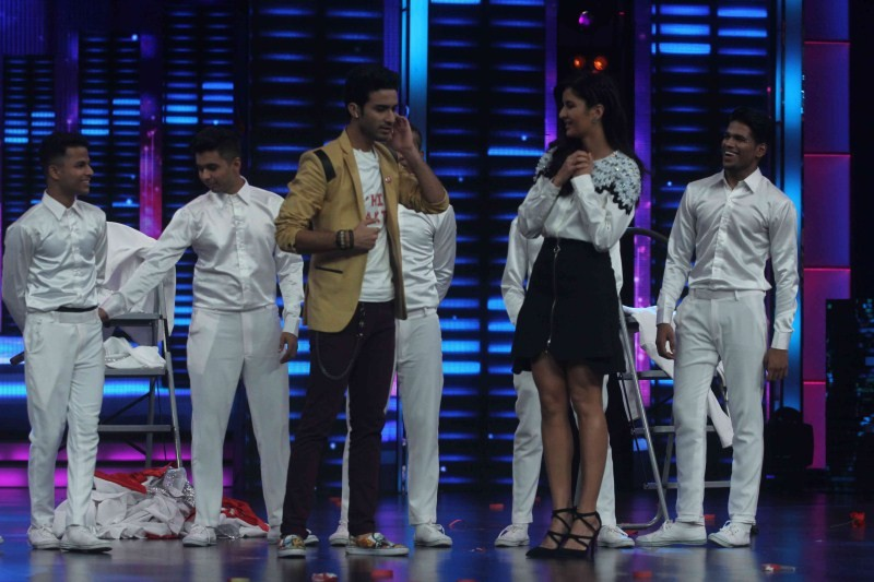 Saif Ali Khan,Katrina Kaif,Saif Ali Khan and Katrina Kaif,Dance Plus Show,Phantom,Phantom movie promotion,Phantom movie promotion on Dance Plus Show
