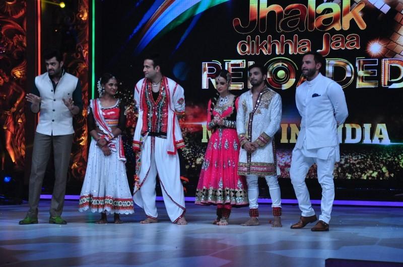 Shahid Kapoor,Saif Ali Khan,Katrina Kaif,Phantom Movie Promotion,Jhalak Dikhla Jaa,Shahid Kapoor and Saif Ali Khan,Saif Ali Khan and Katrina Kaif