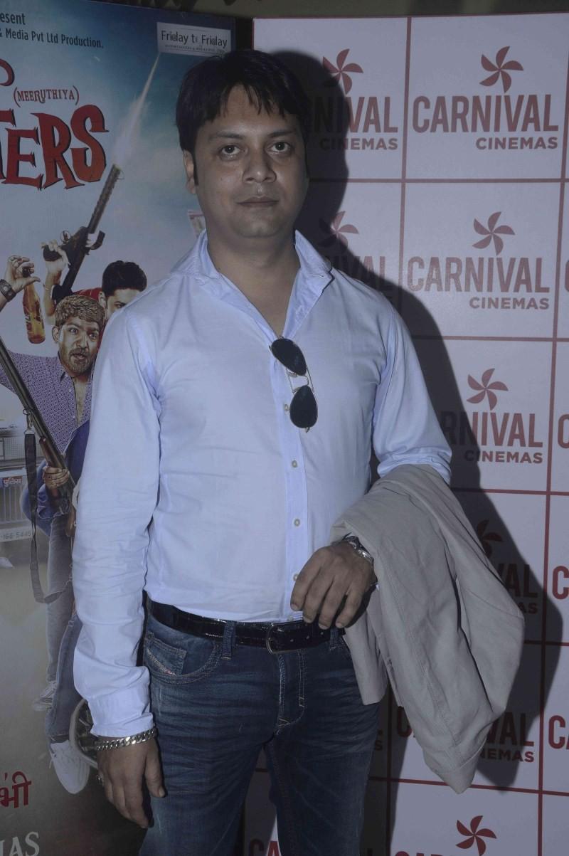 Meeruthiya Gangsters,Meeruthiya Gangsters Trailer Launch,Zeishan Quadri,Nushrat Bharucha,Kavita Kaushik,Soundarya Sharma,Jatin Sarna,Vansh Bhardwaj,Meeruthiya Gangsters Trailer Launch pics,Meeruthiya Gangsters Trailer Launch images,Meeruthiya Gangsters Tr
