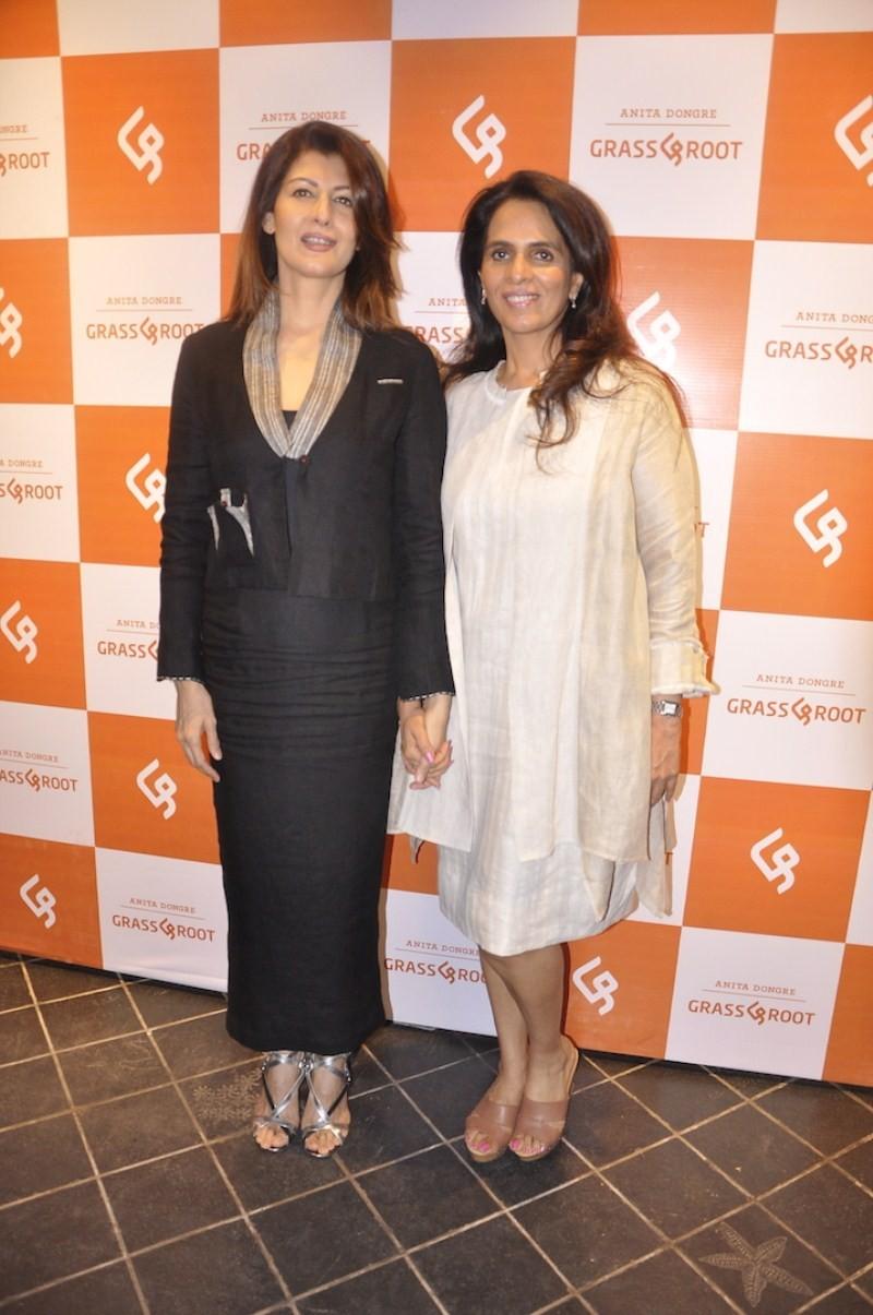 Dia Mirza,Raveena Tandon,Diana Penty,Swara Bhaskar,Grass & Root New Designs Launch,Grass & Root New Designs