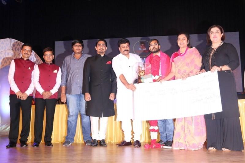 Gollapudi Srinivas National Award 2014,Gollapudi Srinivas National Award,Chiranjeevi,Anushka,Siddharth,Pooja Kumar,Suhasini Maniratnam,Gollapudi Srinivas National Award 2014 pics,Gollapudi Srinivas National Award 2014 images,Gollapudi Srinivas National Aw