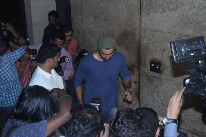Ranbir Kapoor,Ranbir Kapoor at Brother Special Screening,Brother Special Screening,Brother,Brother Screening,actor Ranbir Kapoor,Ranbir Kapoor latest pics,Ranbir Kapoor latest images,Ranbir Kapoor latest photos,Ranbir Kapoor latest stills,Ranbir Kapoor la