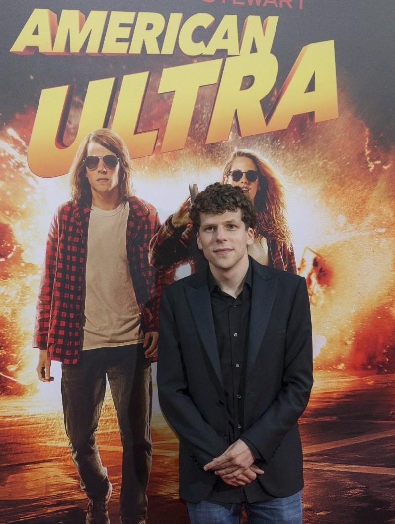 American Ultra,American Ultra Premiere Show,celebs at American Ultra Premiere Show